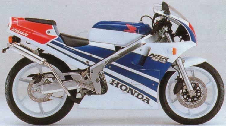 Honda Nsr 50 For Sale 1989 NSR 250R - 63K Terra blue colors